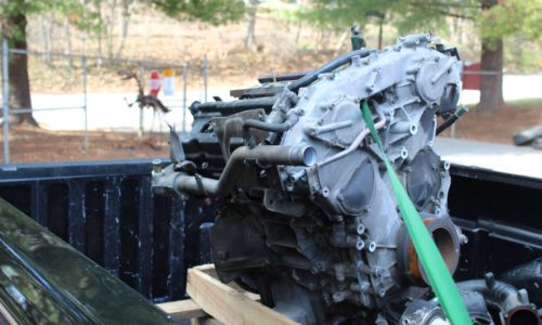 MAG (2020-02) Engine Donation to Blue Ridge Technical School (11)