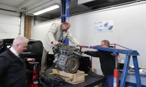 MAG (2020-02) Engine Donation to Blue Ridge Technical School (9)