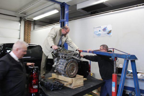 MAG (2020-02) Engine Donation to Blue Ridge Technical School (9)